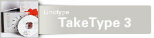 Font TakeType 3 Value Pack