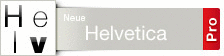 Font Neue Helvetica� Pro Family CD OpenType for Mac OS and Windows