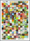 Font Font Badges poster set folded