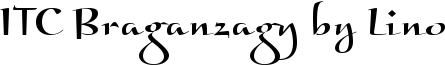 Font ITC Braganza™ by Linotype Regular