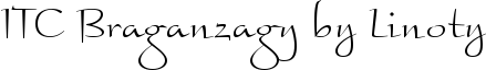 Font ITC Braganza™ by Linotype Light