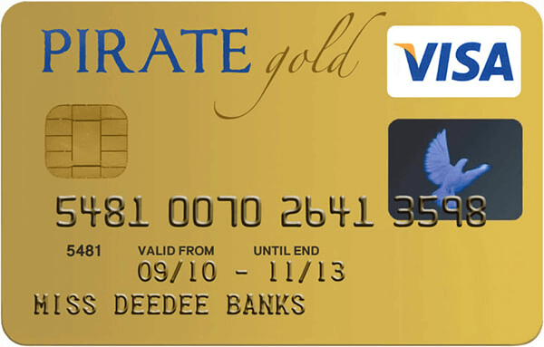Credit Card - Font Illustration