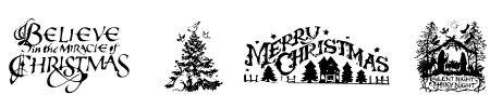 TTF: Christmas Cheer font